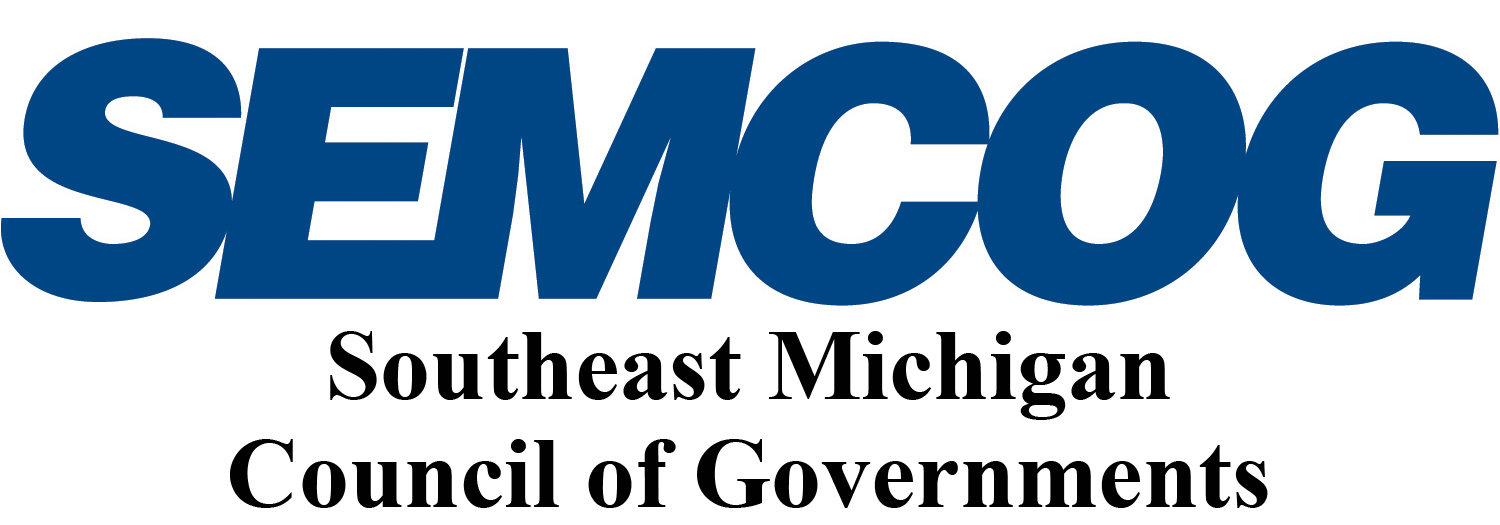 SEMCOG Southeast Michigan Council of Governments Logo on 3 lines